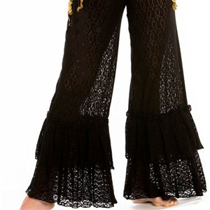 Gypsy Ruffle Pants - Belly Dance Costume
