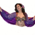 Turkish Vest with Lace Sleeves- Belly Dance Top